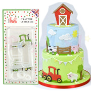FMM Sugarcraft - Tractor Cutter Set