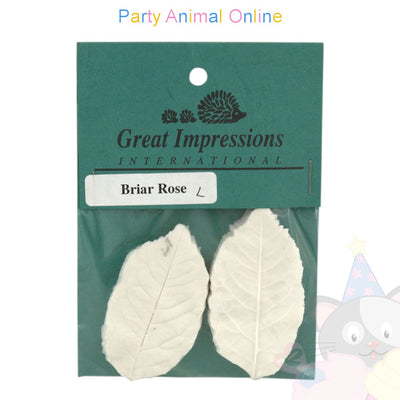 Great Impressions Double Veiners - Briar Rose Leaf Large