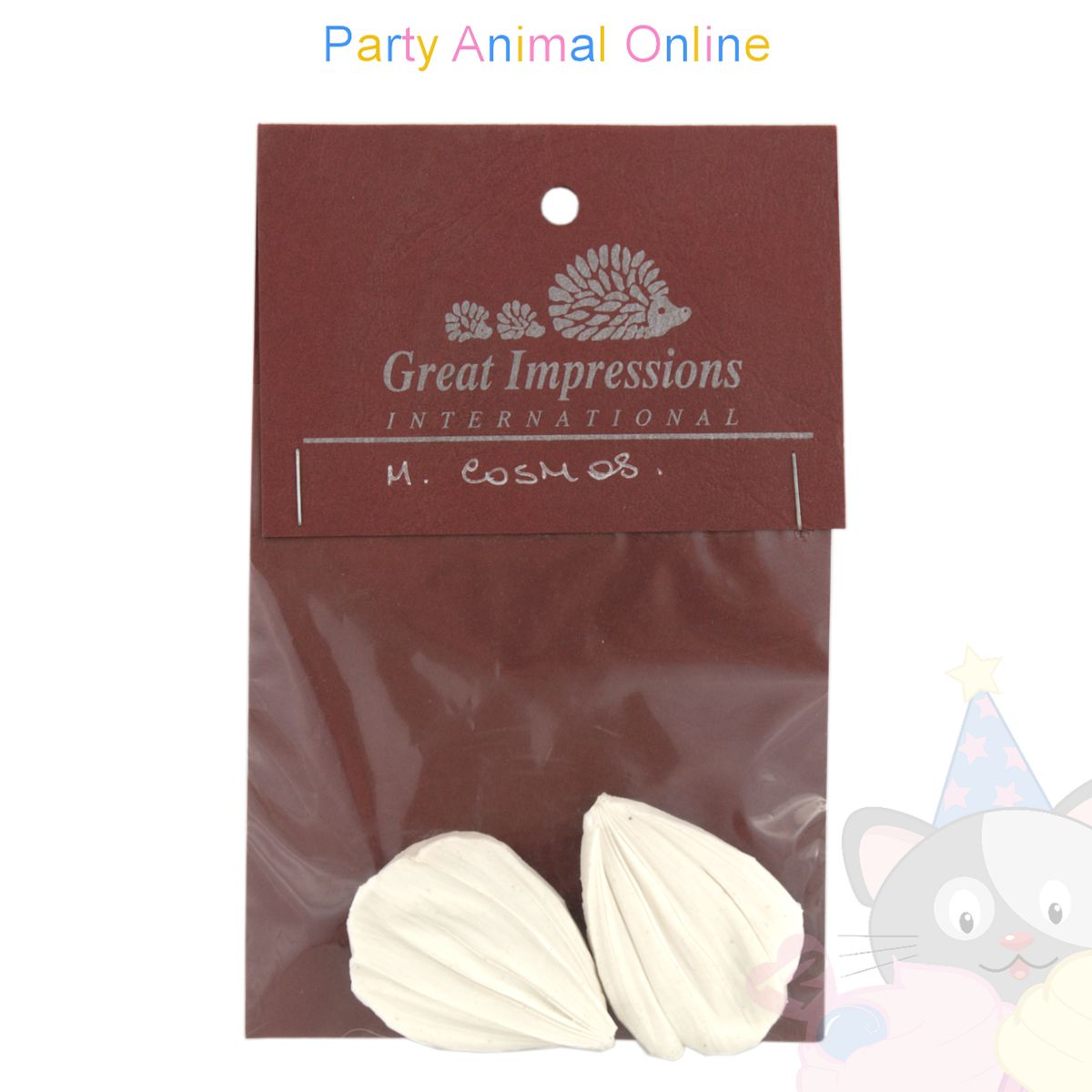 Great Impressions Double Veiner - Cosmos Petal - Medium 4.5cm