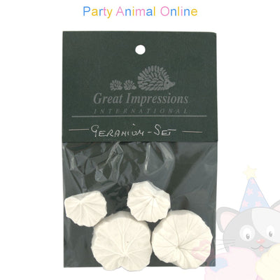 Great Impressions Double Veiner - Geranium Leaf Set of 2