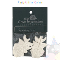 Great Impressions Double Veiners - Gerbera Leaf Small