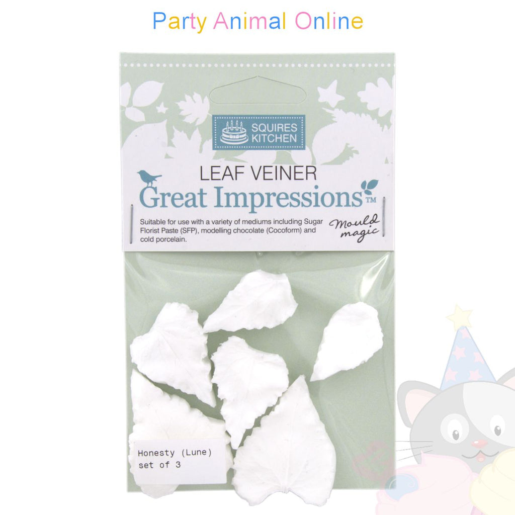 Great Impressions Double Veiner - Honesty Leaf Set of 3