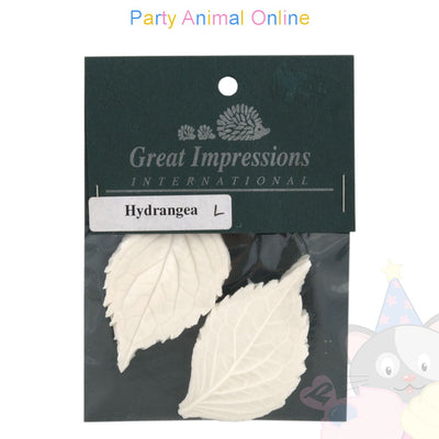 Great Impressions Double Veiners - Hydrangea Leaf Large