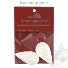Great Impressions Double Veiner - Orchid Frilled Petal - 5.5cm