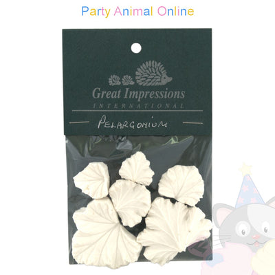Great Impressions Double Veiners - Pelargonium (Geranium) Set