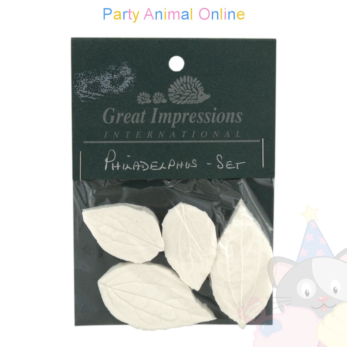 Great Impressions Double Veiners - Philadelphus (Mock Orange) Set