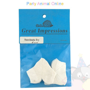 Great Impressions Double Veiner - Succinata Ivy - 6cm