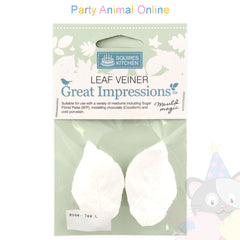 Great Impressions Double Veiners - Tea Rose Leaf Large