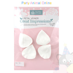 Great Impressions Double Veiners - Tea Rose Petal Large - 5cm