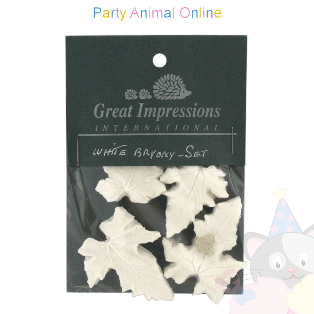 Great Impressions Double Veiners - White Bryony Set