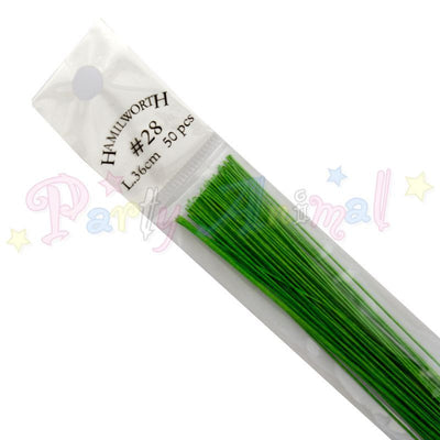 Hamilworth 28g NILE GREEN Floral / Floristry Wires