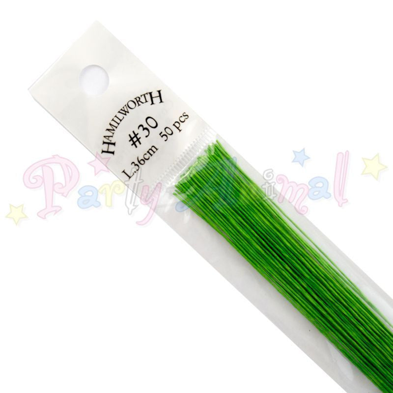 Hamilworth 30g NILE GREEN Floral / Floristry Wires
