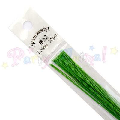 Hamilworth 32g NILE GREEN Floral / Floristry Wires