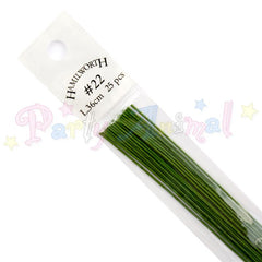 Hamilworth  22g DARK GREEN Floral / Floristry Wires
