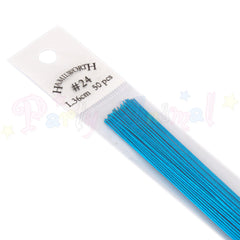 Hamilworth  24g METALLIC AQUA (Light Blue) Floral / Floristry Wires