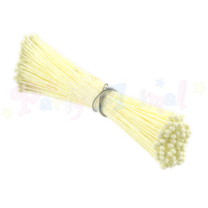 Hamilworth  Flower Stamen Matt Cream P15 (1mm head)