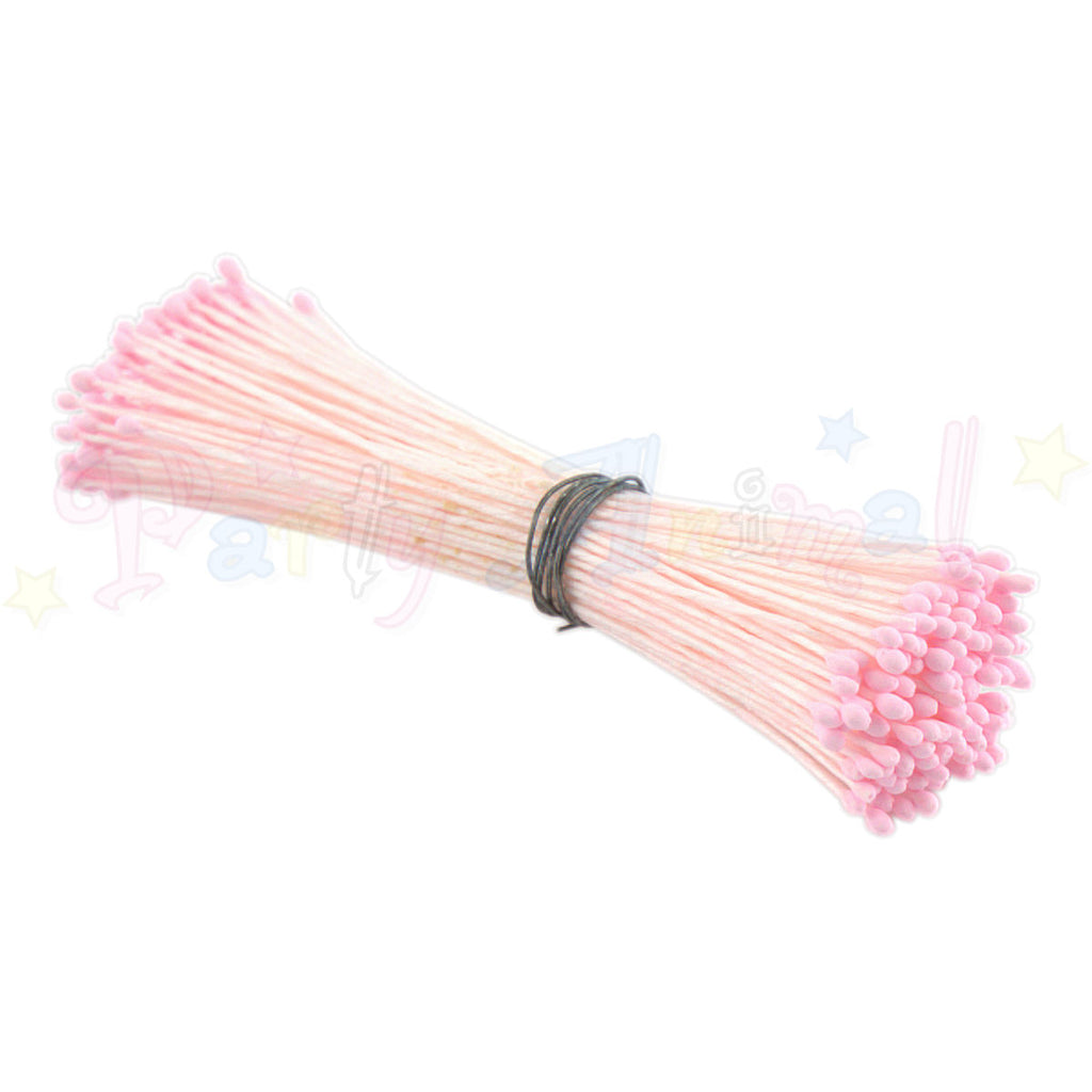 Hamilworth  Flower Stamen Matt Baby Pink P15 (1mm head)