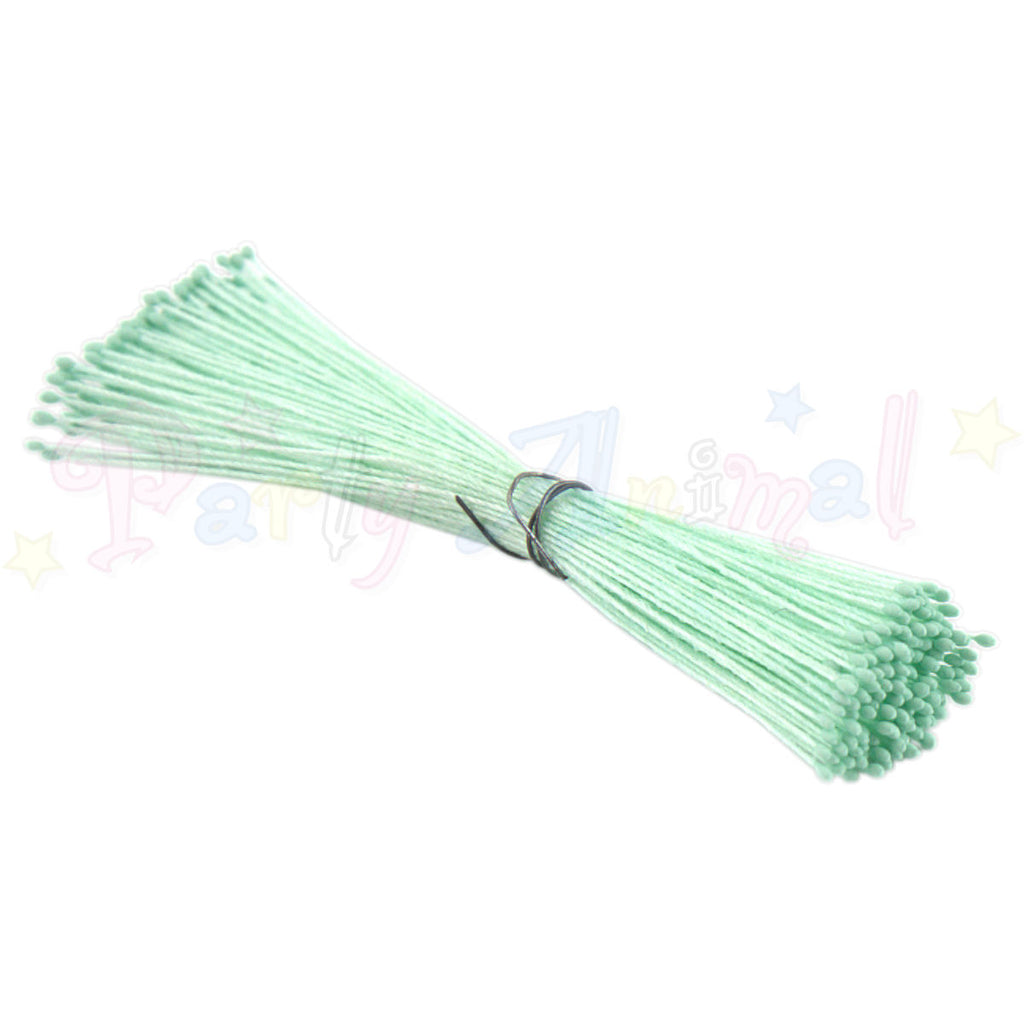 Hamilworth  Flower Stamen Matt Mint Green P17 (0.5mm head)