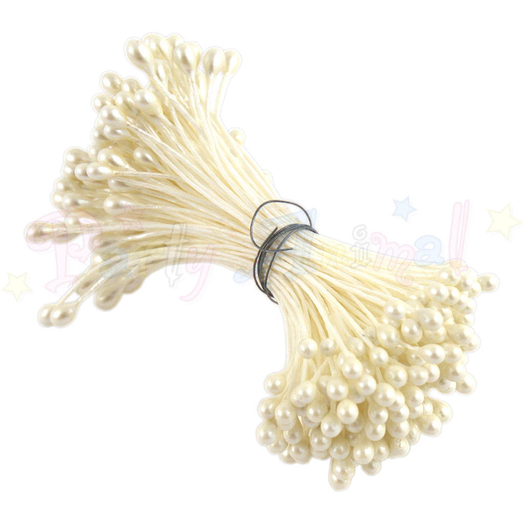 Hamilworth  Flower Stamen PEARL Cream P1 (3mm head)