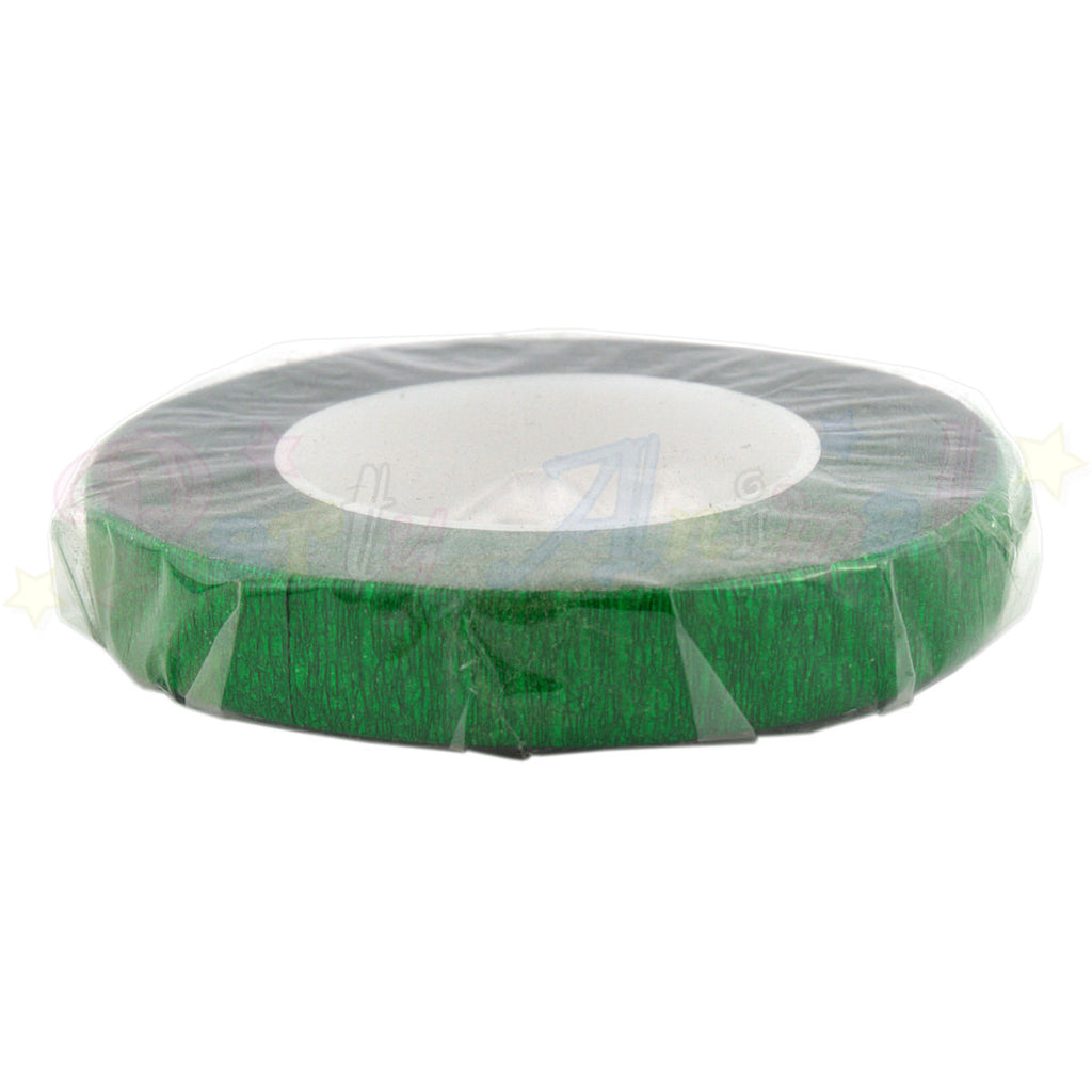Hamilworth Floral Tape METALLIC GREEN - 12mm
