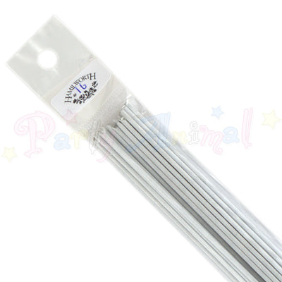 Hamilworth 16g WHITE Floral / Floristry Wires
