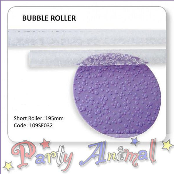 JEM Textured Rolling Pin - Bubble Effect
