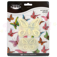JEM Plain Butterfly / Butterflies Cutters - Set of 2