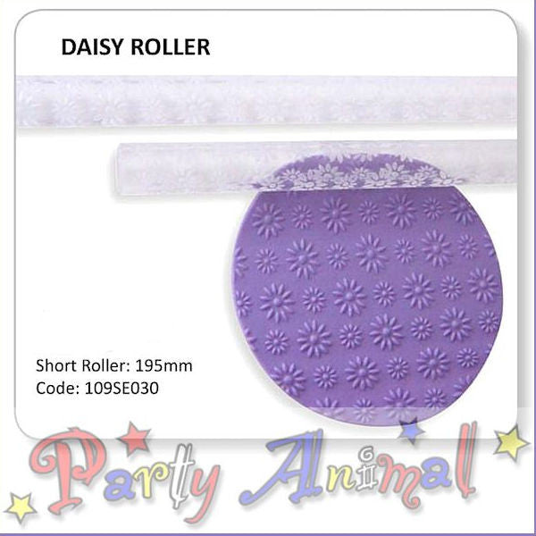 JEM Textured Rolling Pin - Daisy Effect