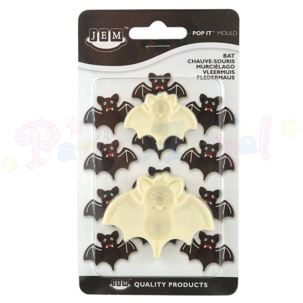 JEM Easy Pops HALLOWEEN BATS 'Pop It' Moulds