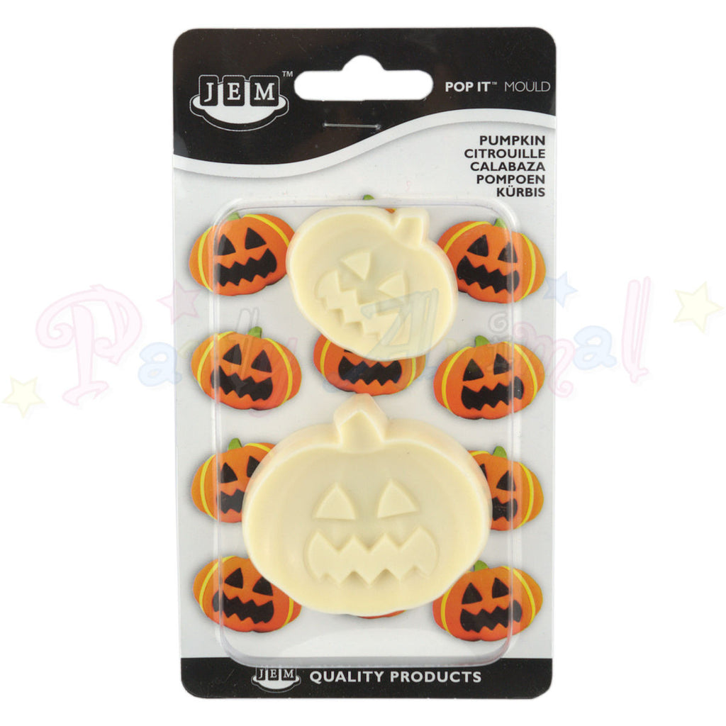 JEM Easy Pops HALLOWEEN PUMPKIN 'Pop It' Moulds