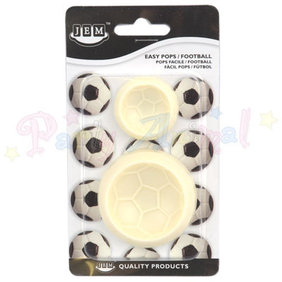 JEM Easy Pops FOOTBALL Moulds