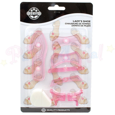 JEM 3D Lady's Shoe Cutter - Cake Topper