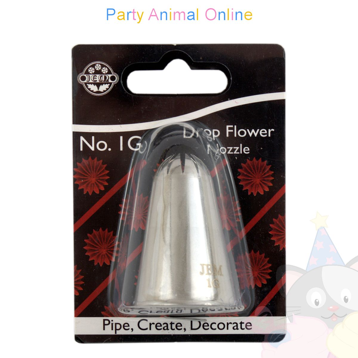 JEM Nozzle 1G - Drop Flower Piping Tube