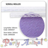 JEM Textured Rolling Pin - Scroll Effect