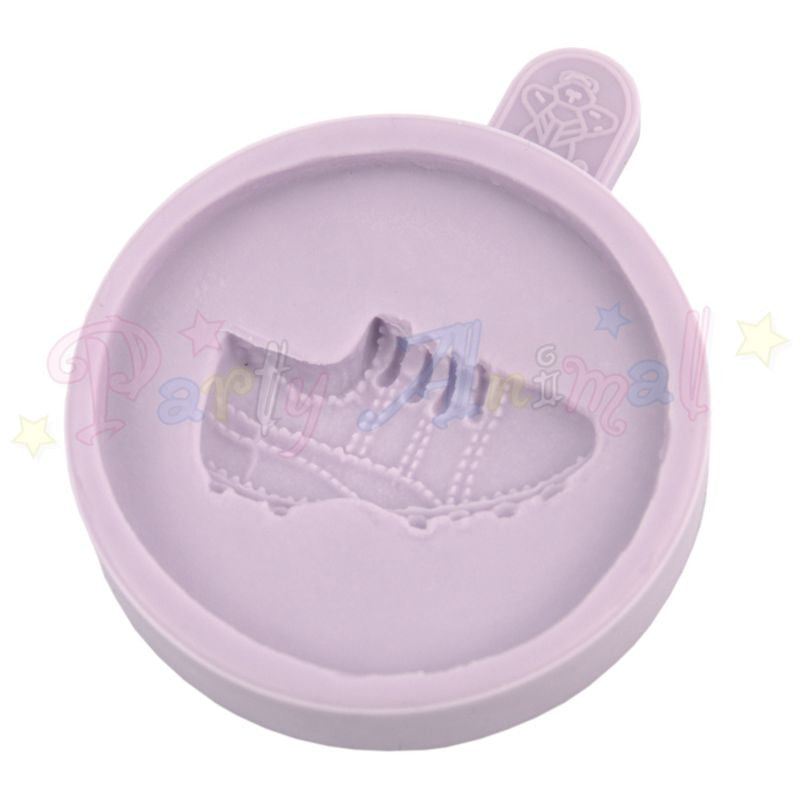 Karen Davies Cupcake Topper Mould - Football Boot / Golf Shoe