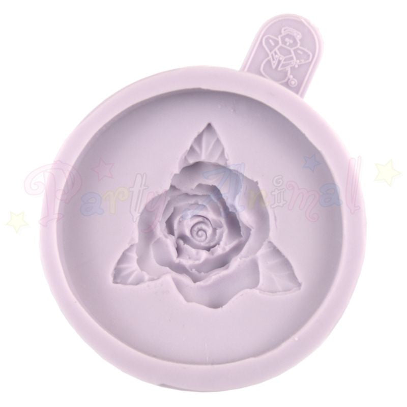 Karen Davies Cupcake Topper Mould - Single Rose