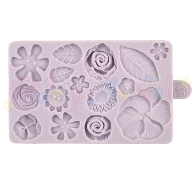 FLOWER BUTTON Mould From Karen Davies.