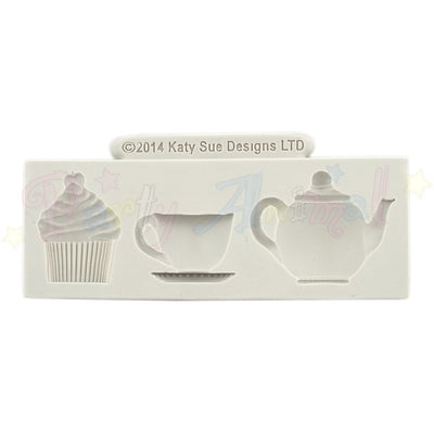 Katy Sue Cupcake Moulds - Afternoon Tea