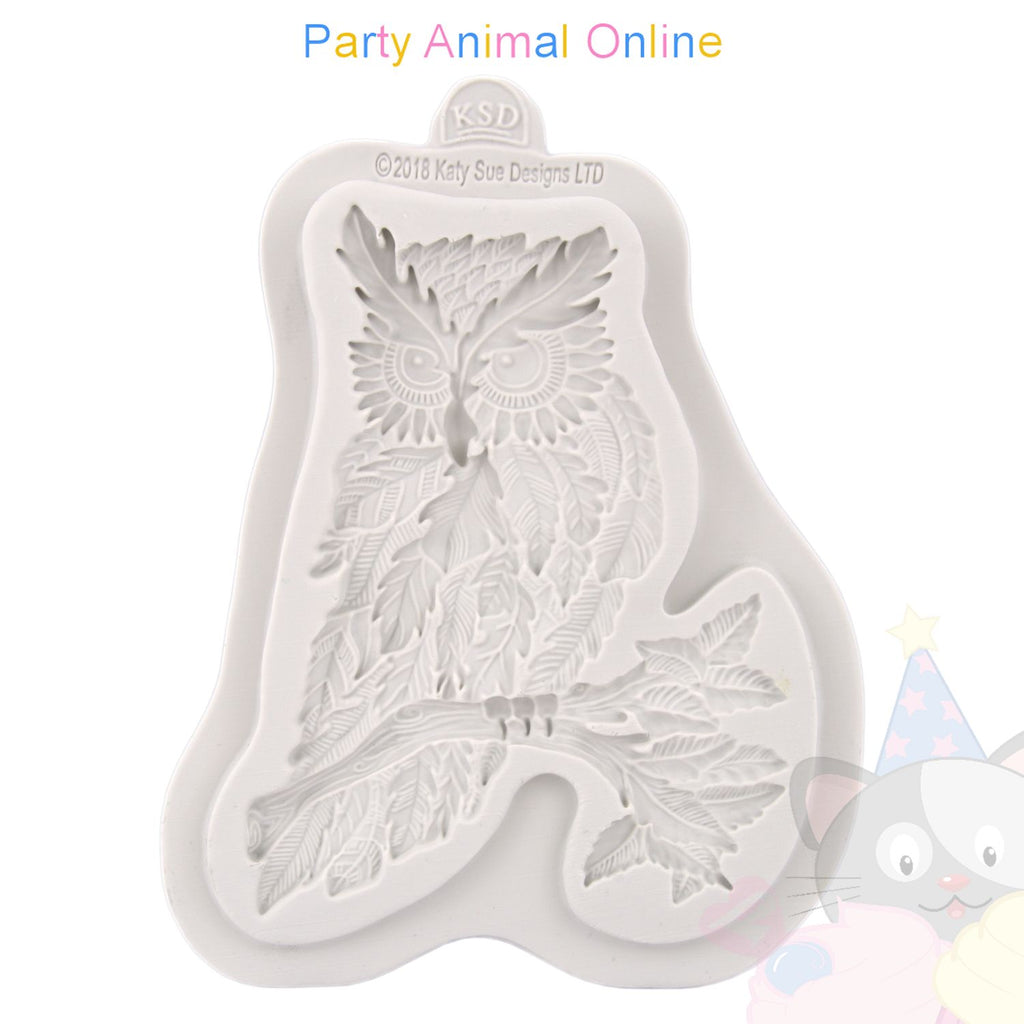 Katy Sue Creative Cake System Moulds - Autumn Leaf Owl Mould
