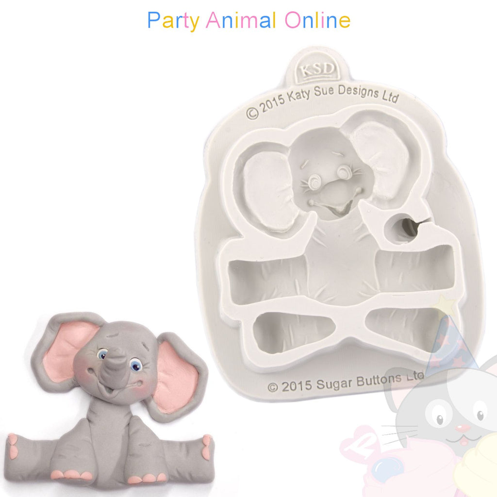 Katy Sue Moulds - Elephant Mould