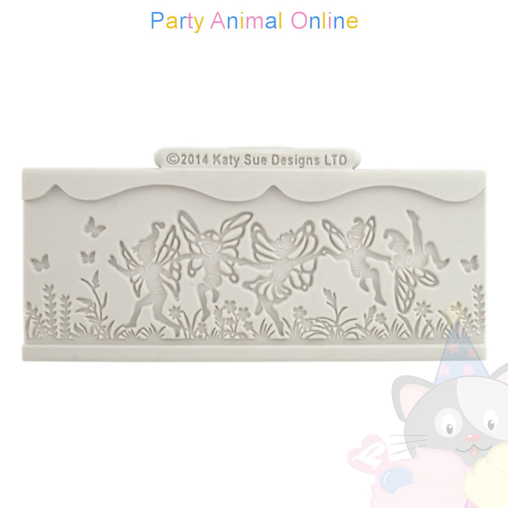 Katy Sue Border Moulds - FAIRY 2.25 inch