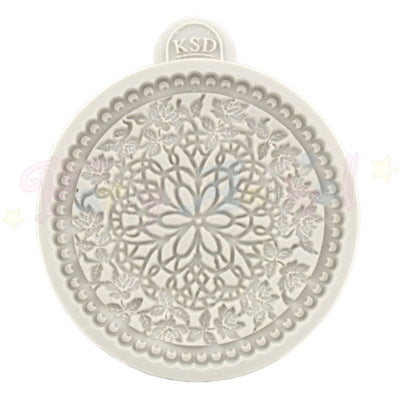 Katy Sue Cupcake Moulds - LACE - Floral