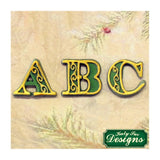 "Katy Sue Moulds Design Mat 4""x4"" - Manuscript Alphabet"