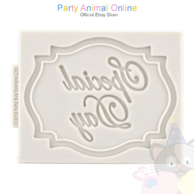 Katy Sue Mini Plaque Moulds - SPECIAL DAY