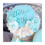 Katy Sue Mini Plaque Moulds - MAKE A WISH