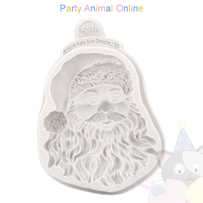 Katy Sue Cupcake Moulds - SANTA HEAD