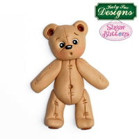Katy Sue Moulds - Stitched Teddy Bear