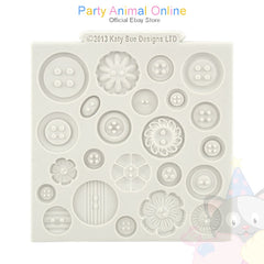 "Katy Sue Moulds Design Mat 4""x4"" - Buttons"