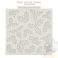 "Katy Sue Moulds Design Mat 4""x4"" - HOLLY PRINT"