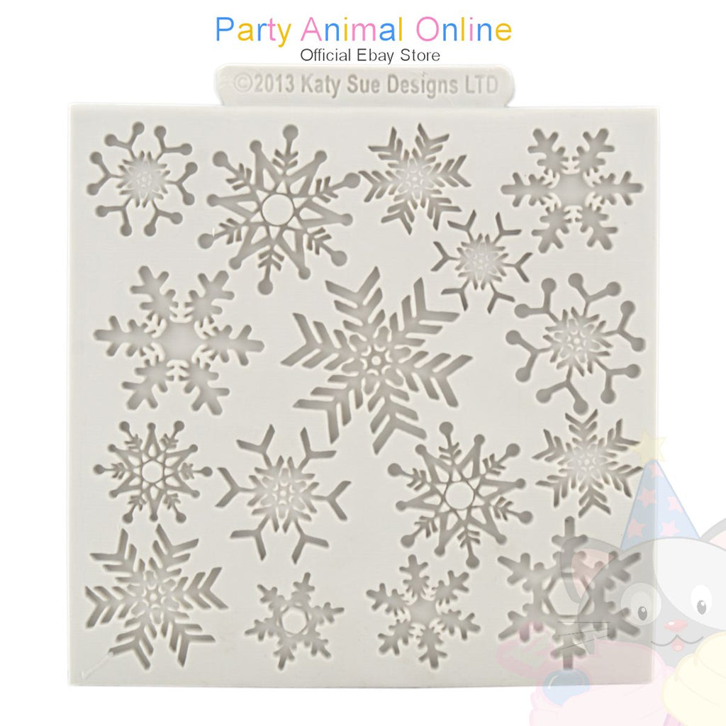 "Katy Sue Moulds Design Mat 4""x4"" - Snowflake Design"